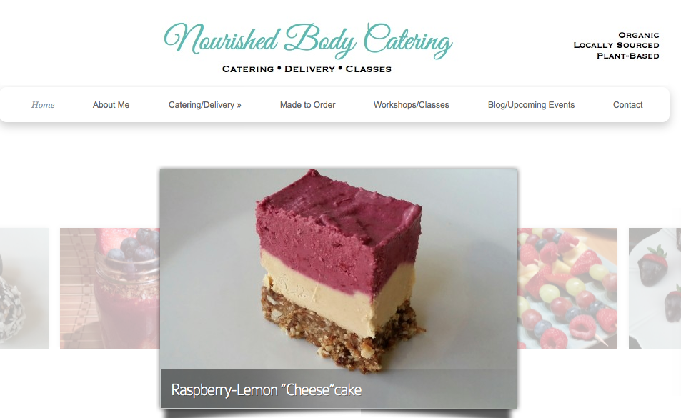 Nourished Body Catering Company Gluten Free